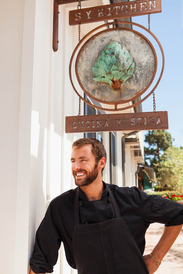 chef Luca Crestanelli, S.Y. Kitchen, Santa Ynez, Santa Ynez Valley, California, United States of America